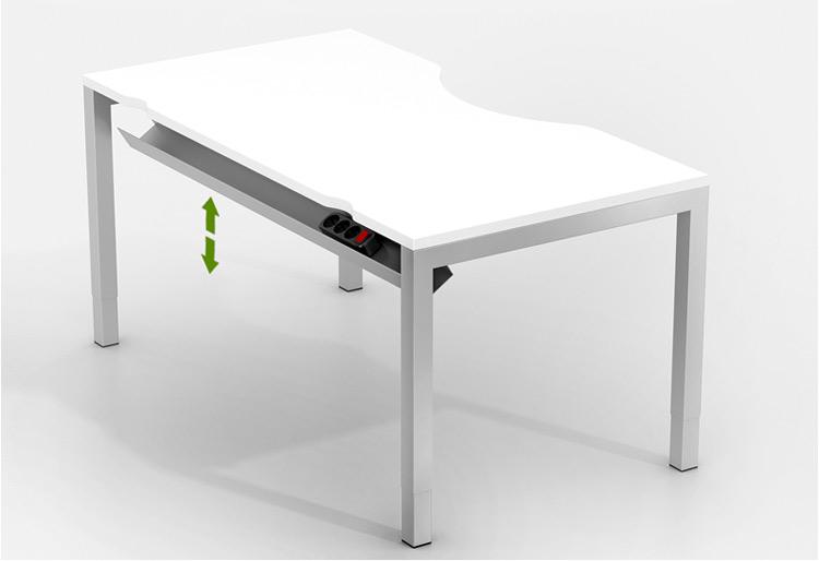 Откидные кабель-каналы столов