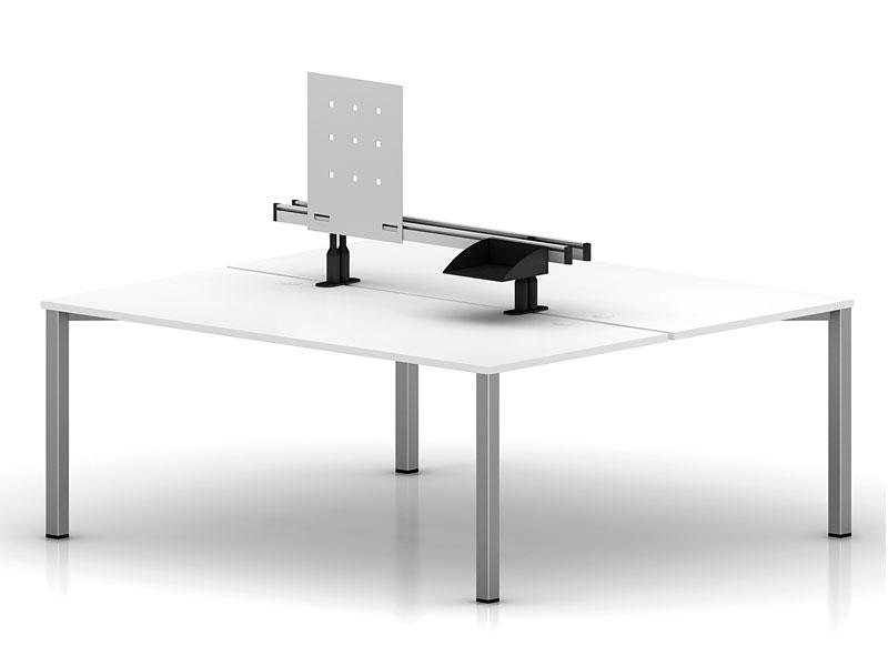 Двухместный бенч-стол Interplay на раме
