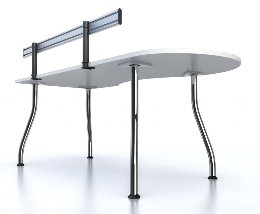 Офисный стол Fansy с интерактивной столешницей на металлических опорах.jpg