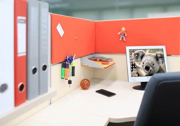 Экраны и пространство над столом