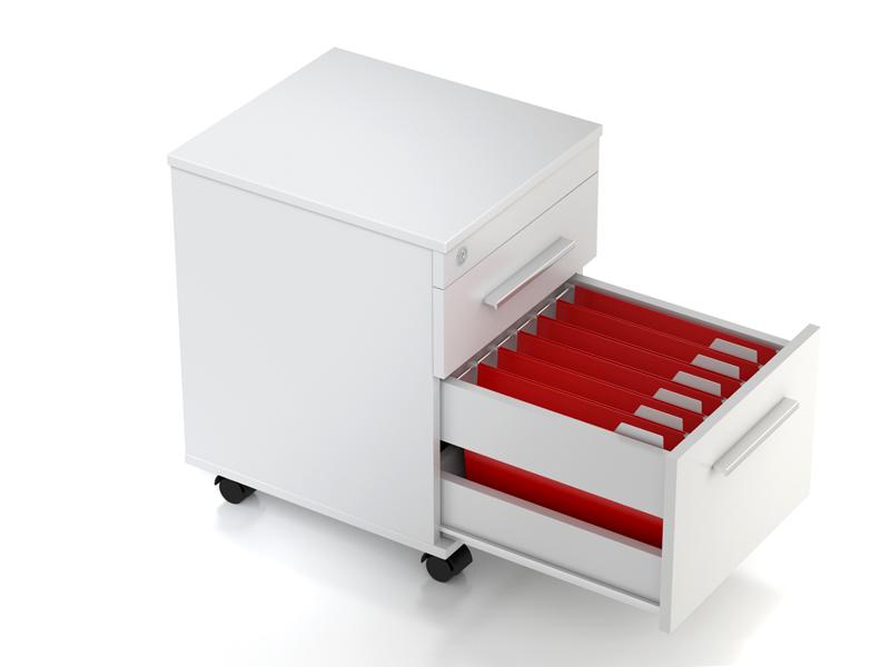 Тумба с ящиком для файлов